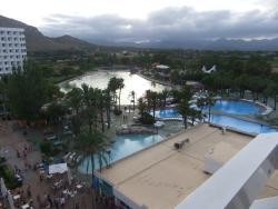 View from Hotel Saturno.
