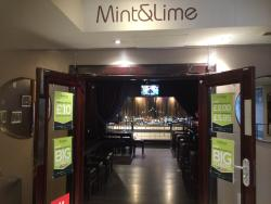 Mint & Lime Bar