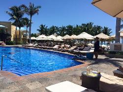pool next to beach