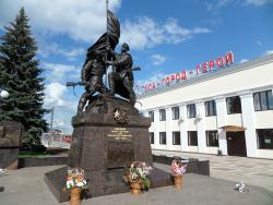 Monument to Defenders of Hero-Town Tula