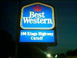 Best Western Plus Black Rock Hotel Sign