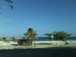 EAGLE BEACH ACROSS THE WAY..