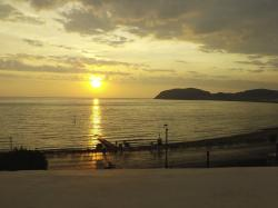 Sunrise from Room 10