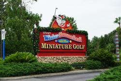 Disney's Winter Summerland Miniature Golf Course