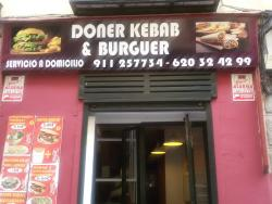 Burger and DONER KEBAB