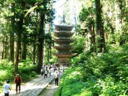 Hagurosan Five-Story Pagoda