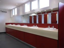 Toilet & Shower Block