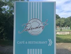 Cafe restaurant Fredersdorf