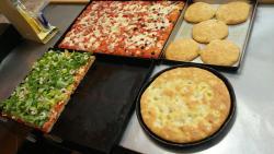 Pizza rustica al taglio