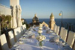 Hotel Tramonto d'Oro wedding reception
