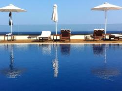 Pool View from the Bar