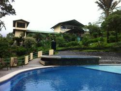 Swimming pool at the lodge