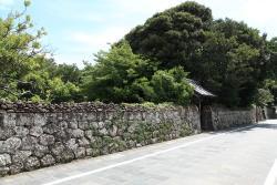 Fukue Samurai Mansion Street