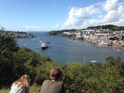 South West Coast Path Walk - Creeks and Coves: Bodinnick, Polruan and Fowey
