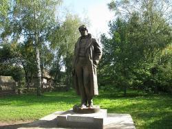 Statue of Sergey Esenin