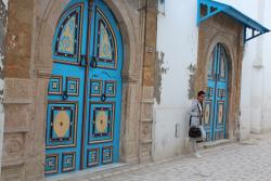 The doors of the medina