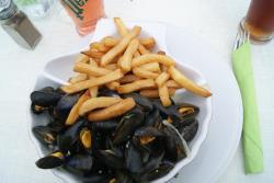 moules marinières- frites
