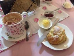 The Vintage Tea Room at Nanabelles