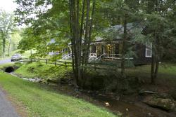 Cabins from Healing Springs Road