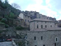Olargues, un village médiéval à flanc de montagne