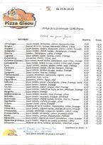 Pizza Gisou