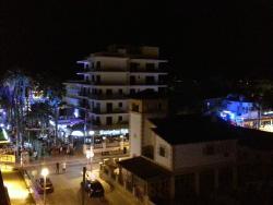 les bar vue du balcon