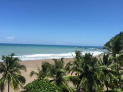 Vista frente al mar.