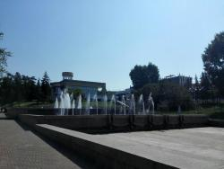 Fountain Near The Wedding Palace