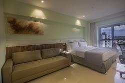 Apartamento Luxo - 1 Cama de Casal King Size e 1 Sofá Cama