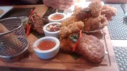 Lovely starter ...including salt and pepper squid