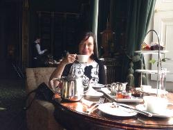 Birthday treat afternoon tea