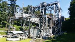 Schiffshebewerke des belgischen Canal du Centre