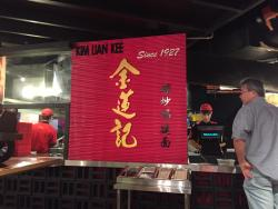 This is the Hokkien Mee stall.  They fry a delicious and very original Hokkien Mee noodles.