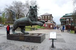 Скульптура Бабр