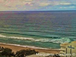 surf beach below