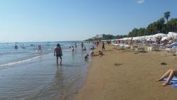 Den flotte lange strand