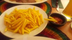 Patate fritte colombiane