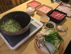 Syabu-syabu buffet Syabu-yo Musashikoyama