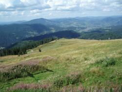 Вид с горы Высокий Верх