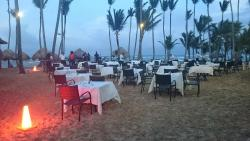 Lobster on the beach until it rained lol