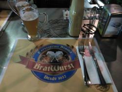 Bratwurst Cervecerías Bonilla
