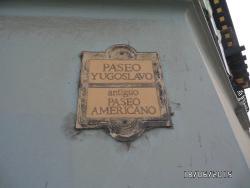 Paseo Yugoeslavo Ex Paseo Americano