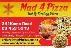 Mad 4 Pizza