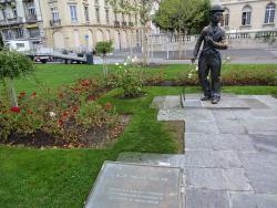 Statue Charlie Chaplin