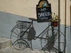 le vélo est souvent une déco !