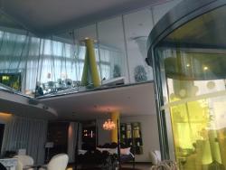 Trendy eccentric hotel