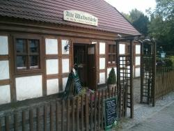 Wiesenstein in der historischen Gaststatte Alte Waldschanke