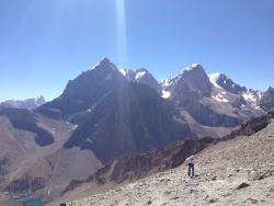 Alauddin pass summit