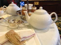 Scottish themed tea