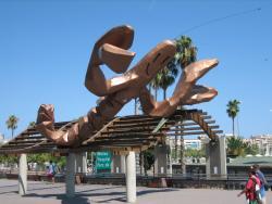 Sculpture Smiling Shrimp